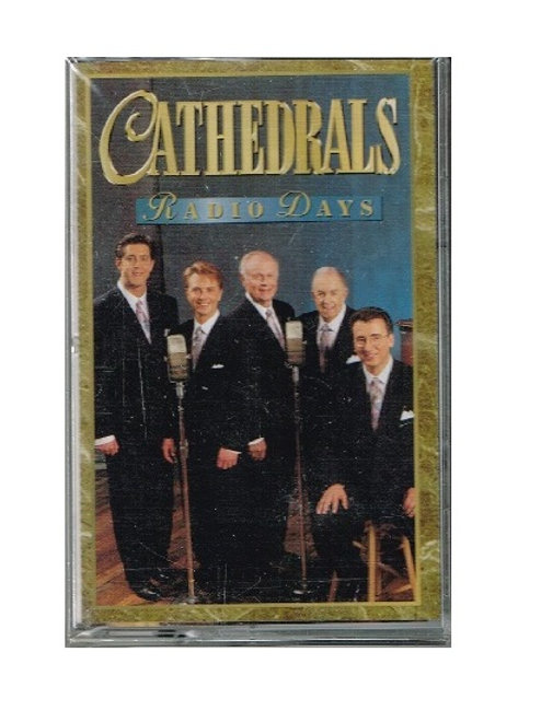 Cathedrals Radio Days Music Cassette, Original Factory Sealed Wrap