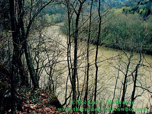 View of the Kentucky River at Raven Run, Nature Photography