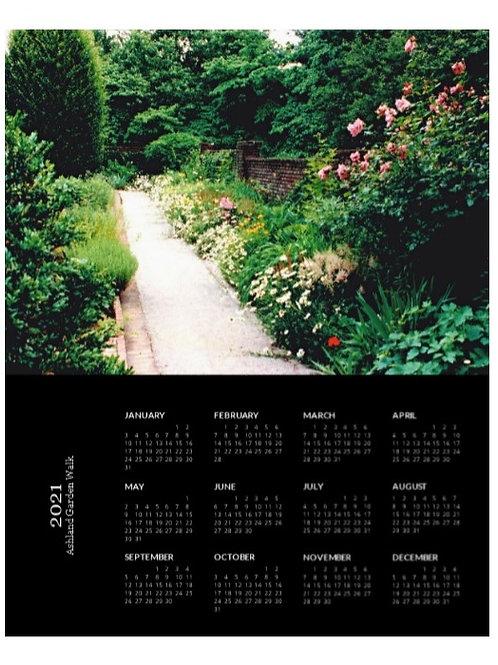 2021 Ashland Garden Walk Calendar, 8x10 One Page Calendar