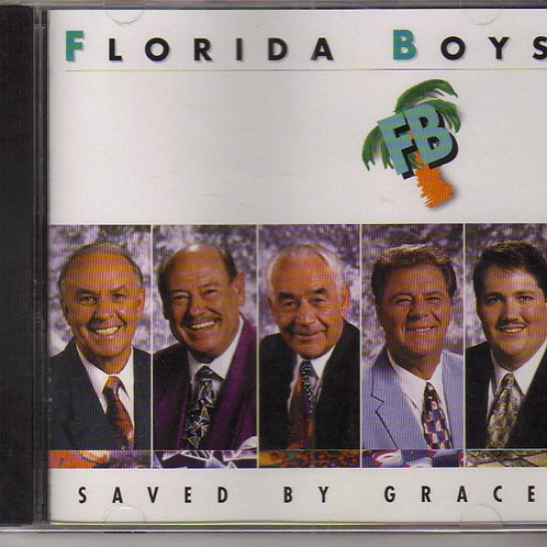 The Florida Boys, Saved by Grace, Vintage Music CD, Original Facto