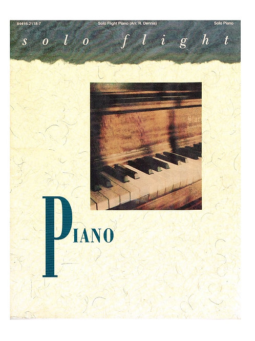Solo Flight Piano, Printed Music Collection