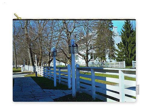 Shaker Landscape, Centre Family Historic Structure, Zip Carry Pouch