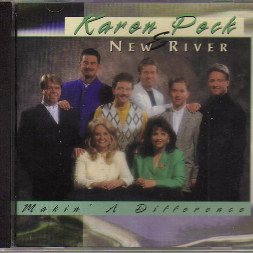 Karen Peck Makin A Difference Music CD, Original Factory Seal