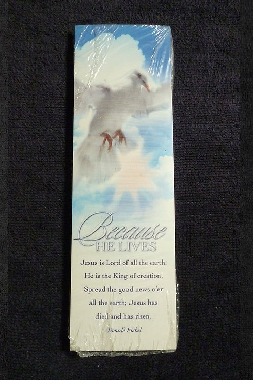 Bookmark Because He Lives, Pack of 25