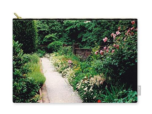 Gravel Walkway through Ashland Garden, Henry Clay Estate, Zip Carry Pouch