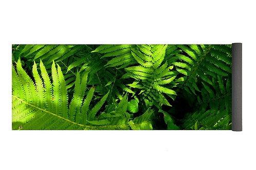 Closeup of Ferns, 24x72 Yoga Mat