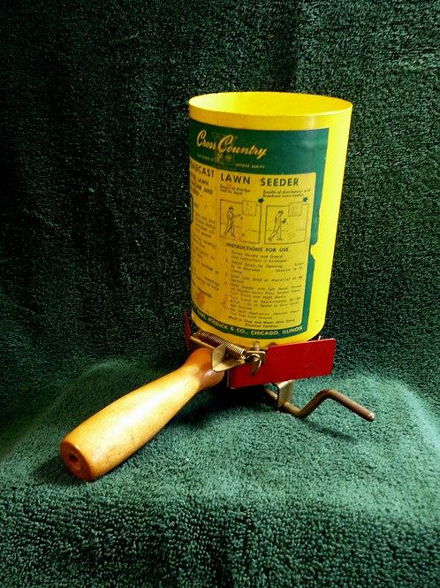 Vintage Sears Hand Held Seed Spreader