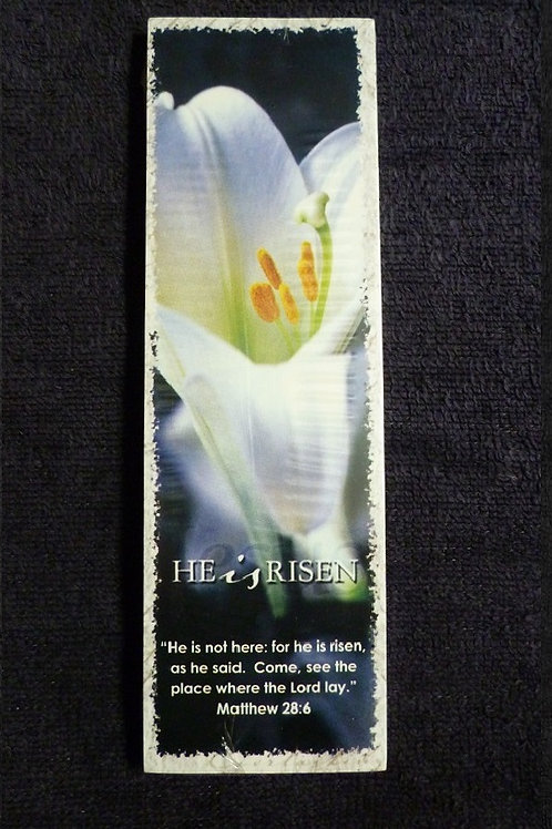 Bookmark He is Risen, Pack of 25