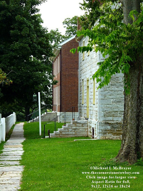 Shaker Village Houses, Historic Structure Photography