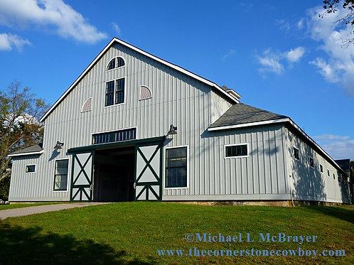 Historic Horse Barn, Kentucky Equine Photography