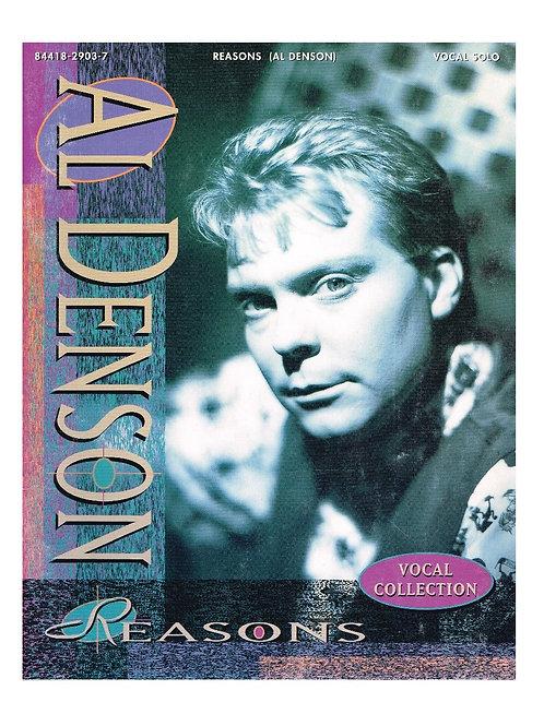 Al Denson Reasons Vocal Collection Songbook