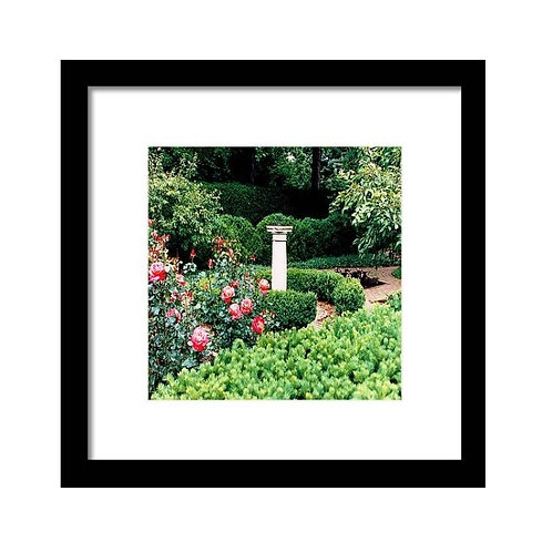 Sundial 94 Squared, Framed 8x8 Photo Print