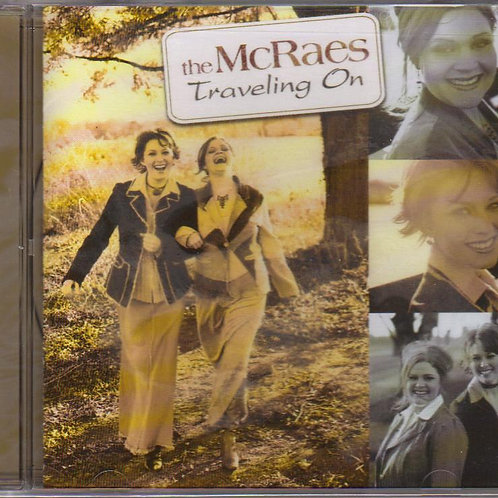 The McRaes, Traveling On, Music CD, Original Factory Sealed CD Case