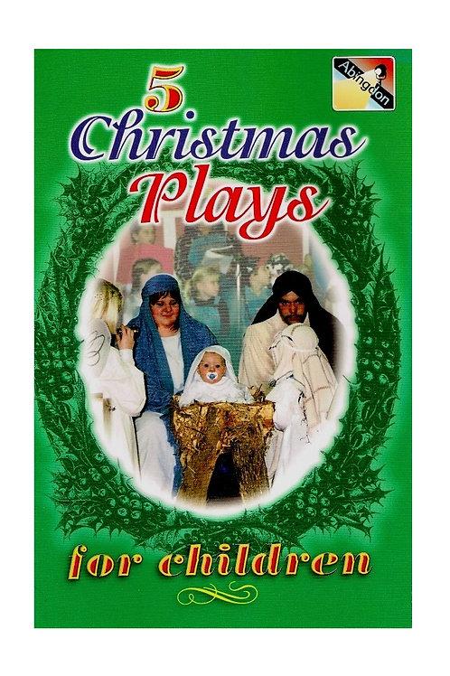 5 Christmas Plays for Children, Abingdon Press Paperback