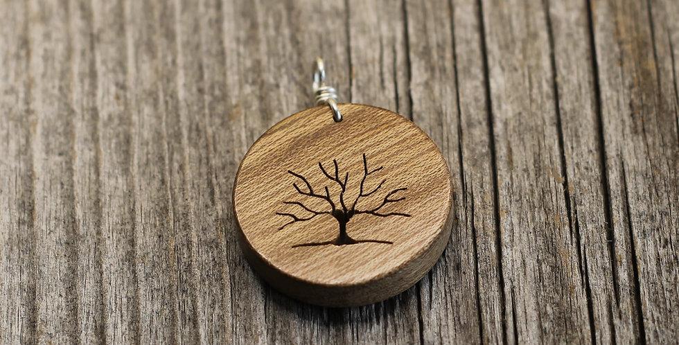 Lebensbaum Holz (Nuss)
