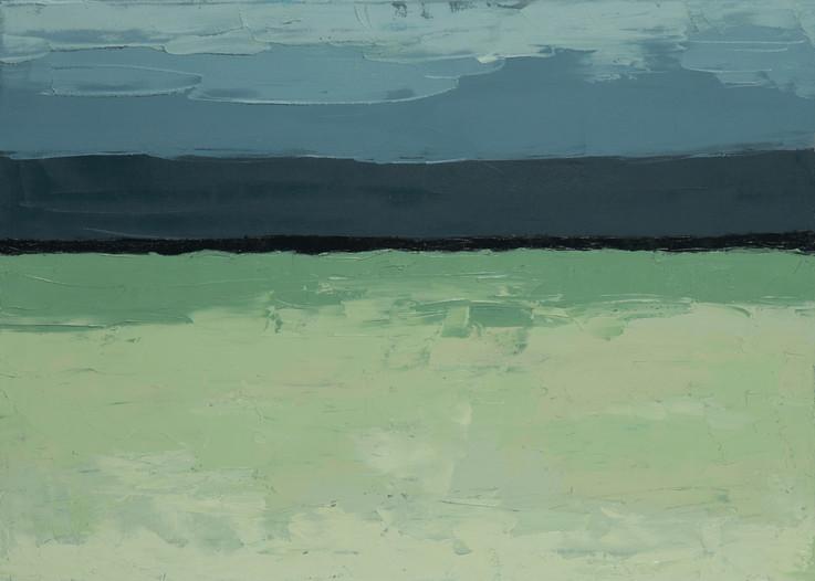 Contraste 2, 2014, huile sur toile, 50x70cm