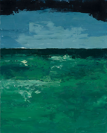 Solitude, 2014, huile sur toile, 41x33,