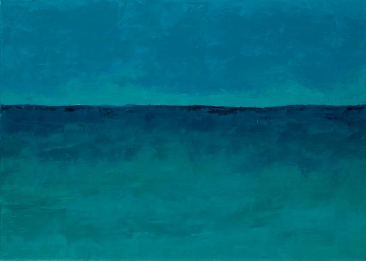Immensité, 2015, huile sur toile, 50x70cm, VENDU