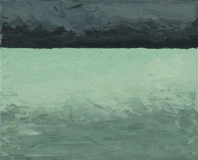 Contraste 1, 2014, huile sur toile, 25x30cm VENDU