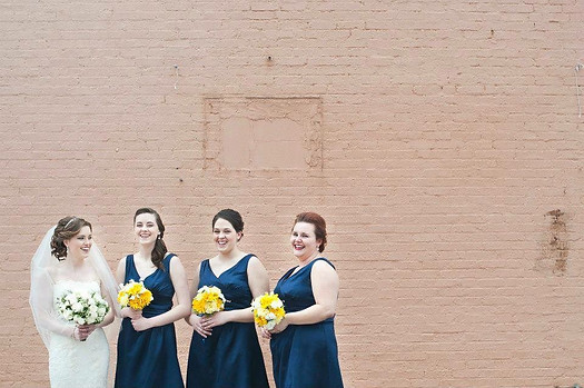 Bridal Party of Three One Seven Salon LLC