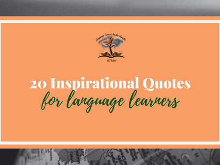 Our 20 top quotes about language learning