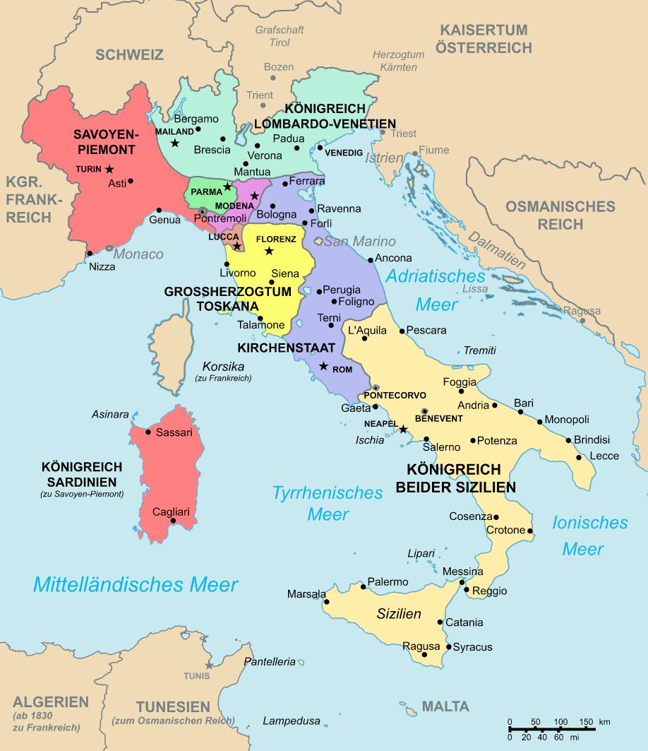 1861 Italien