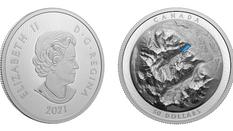Neue Münze aus Kanada: See Louise