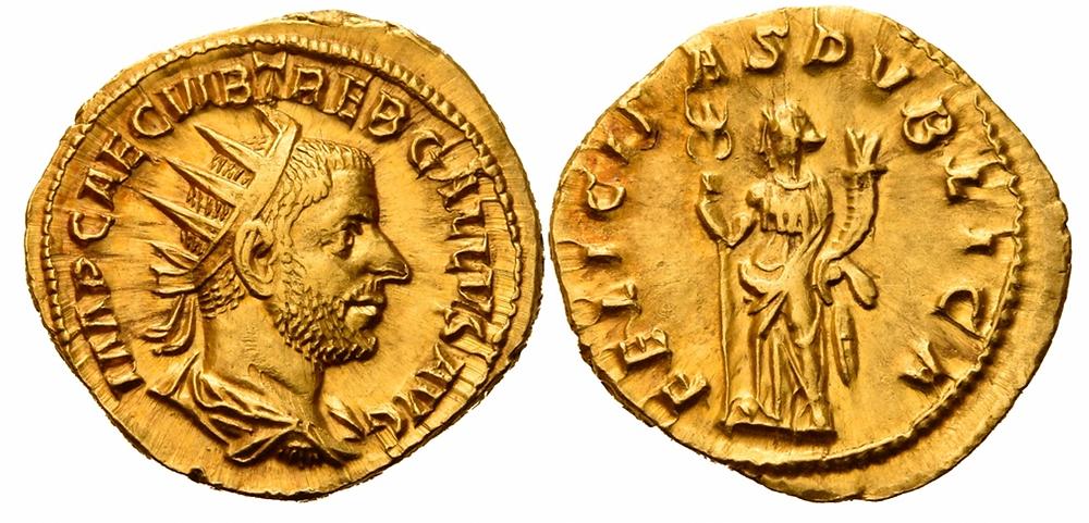 Römische Kaiserzeit. Trebonianus Gallus.