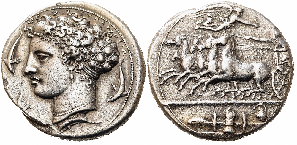 Griechen. Syrakus. Dionysios I.