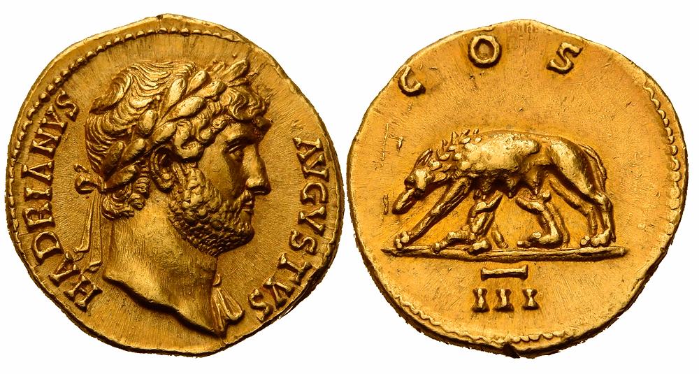 Römische Kaiserzeit. Hadrian.