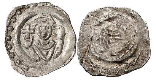 Münzfund von Markstetten, bestehend aus 560 Münzen. Meist sehr schön.