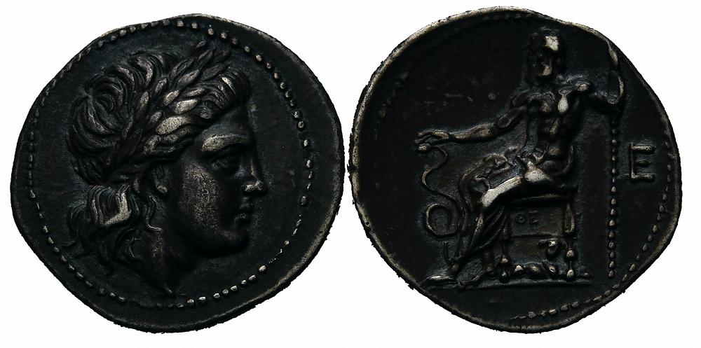Griechen. Epidauros. Drachme.