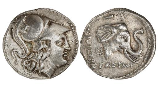 Seleukos I., 312-280. Drachme, um 291, Susa. Sehr selten. Aus Sammlung Walter Weise. Sehr schön.