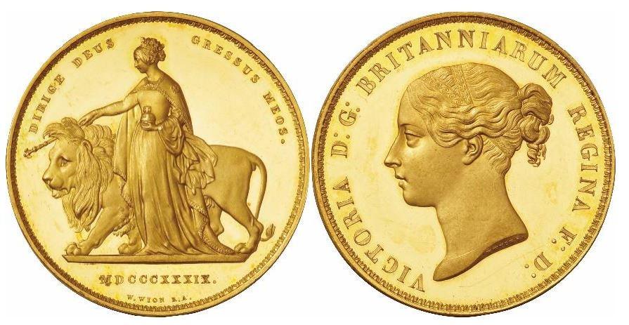 Großbritannien. Victoria, Una and the Lion. 15-Münzen-Komplettset aus Gold, Silber und Bronze. 1839. NGC - 5 SOV: PF63 ULTRA CAMEO; 1 Sov: PF64+ ULTRA CAMEO; 1/2 Sov: PF65 ULTRA CAMEO; 1 C: PF65 CAMEO; 1/2 C: PF65+ CAMEO; 1 S: PF64 CAMEO; 6 P: PF64; 4 P: NGC PF64; 4 P Maundy: NGC PF66; 3 P Maundy: PF66 CAMEO; 2 P Maundy: PF66 CAMEO; 1 P Maundy: NGC PF64; 1 P: PF64 BN; 1/2 P: PF63 BN; 1/4 P: PF64 BN