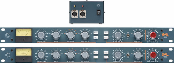 BAE 10DC Stereo pair Compressor with PSU