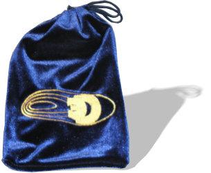 Coles Microphones Blue Velvet Bag