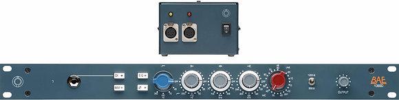 "BAE 1066D 19"" 1RU rack w/power supply"