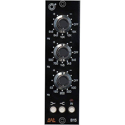 BAE B15 3-Band EQ, 500 Series Module