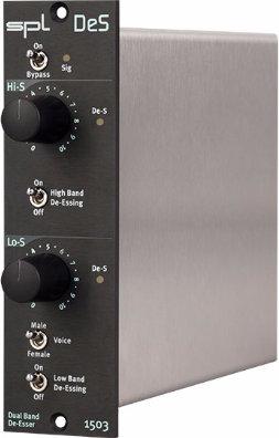 SPL DeS 500 Series Dual Band De-Esser