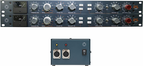 BAE 10DCF Stereo pair Filter Compressor with PSU