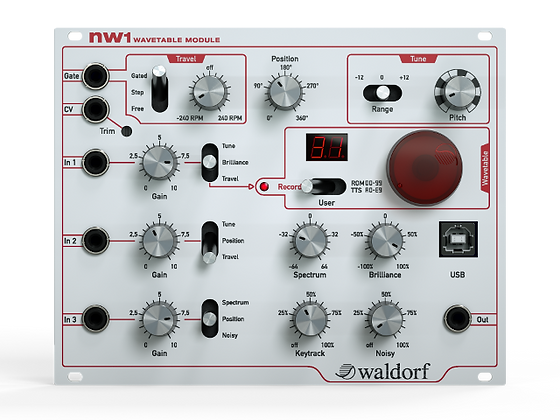 Waldorf nw1 Eurorack Wavetable Module