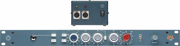 "BAE 1084 19"" 1RU rack w/power supply"