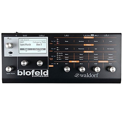 Waldorf Blofeld Synthesizer Black Limited Edition