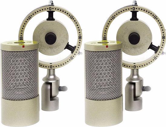 Coles 4050 DM - Stereo Ribbon Microphone w/ Dual Mounts