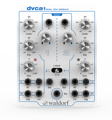 Waldorf dvca1 Eurorack Dual VCA Module (PREORDER)