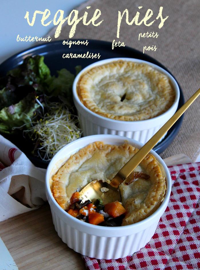 Little veggie pies