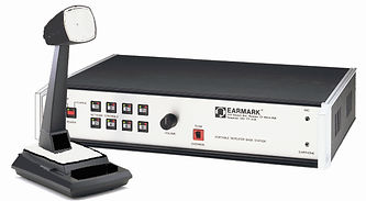 EARMARK Multi-Man Base Station, Duplex, team communications, live microphone, command center, remote radios, team, Sonetics, Eartec, up to 8 remote radios, USAF, Corregating, Paper, Glass, industrial radio,