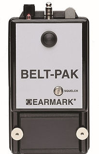 EARMARK BELT-PAK Body Mounted Radio, UL Listed, Intrinsically Safe, FM, VHF, MHz, FCC Licens, Oil & Gas, HAZLOC, Custom Headsets, Engineering, Reliable Radio System, 3 year warranty