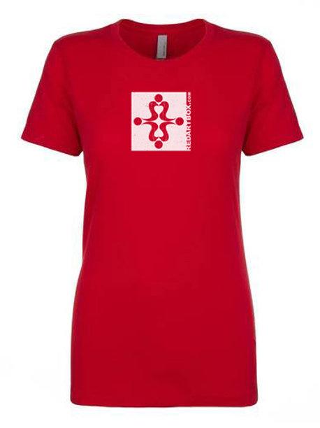 RedArtBox Logo Red Ladies