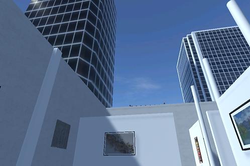 Rooftop Gallery Los Angeles